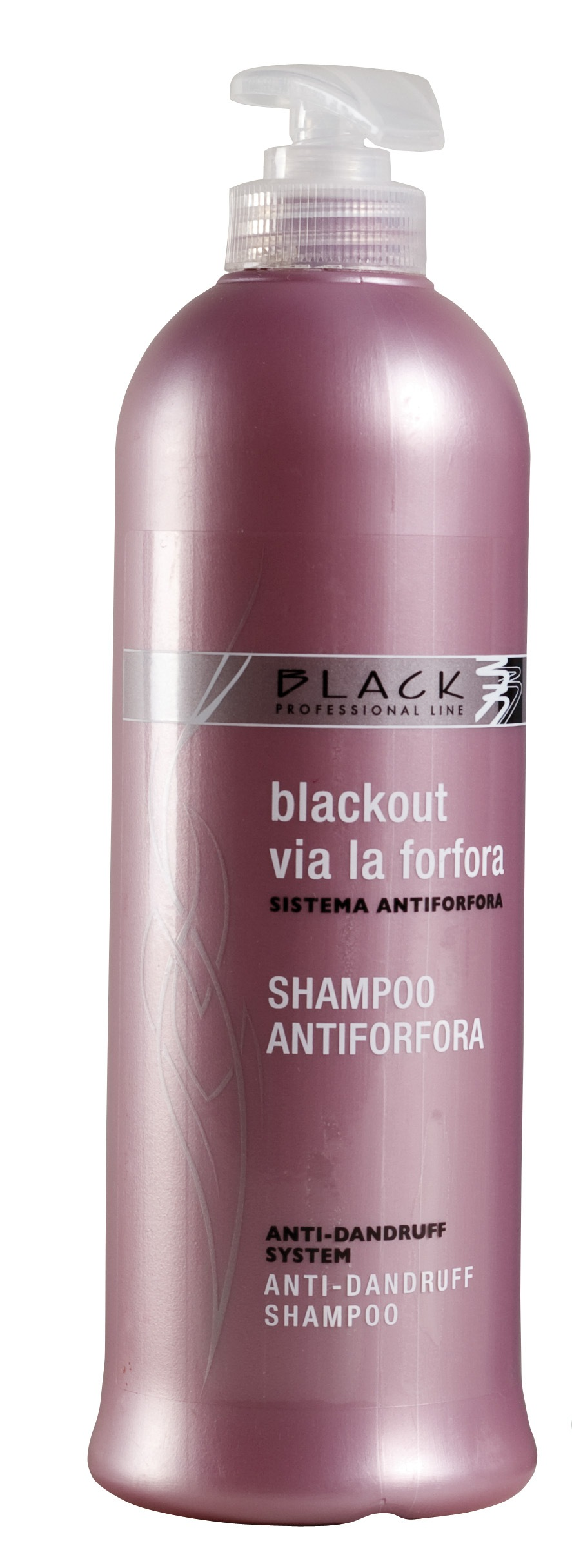 Black Anti-Dandruff Shampoo 500 ml