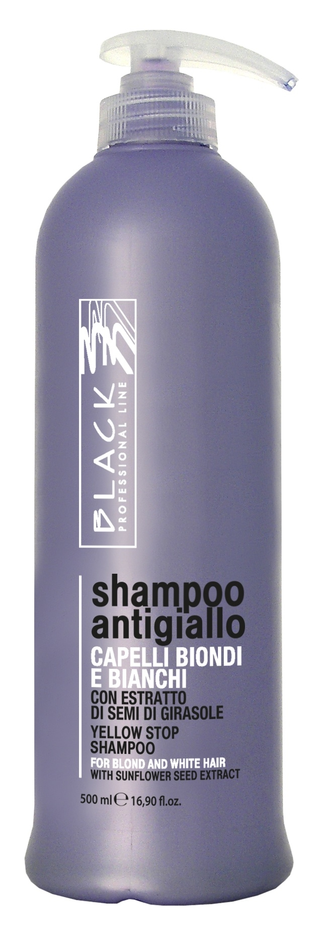 Black Yellow Stop Shampoo 500 ml
