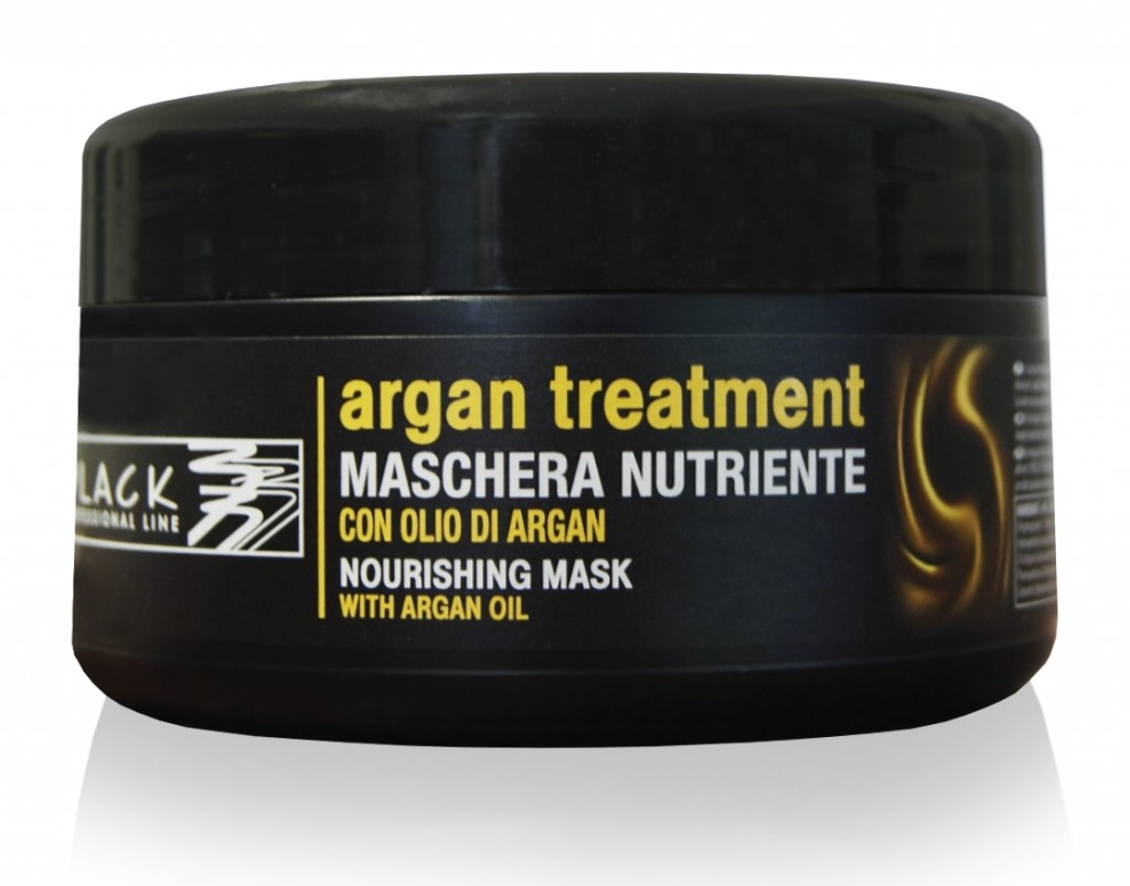 Black Argan maska 250 ml.