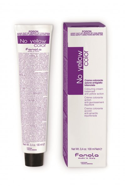 Fanola No Yellow Color 8.ICE - světlá ledová blond 100 ml