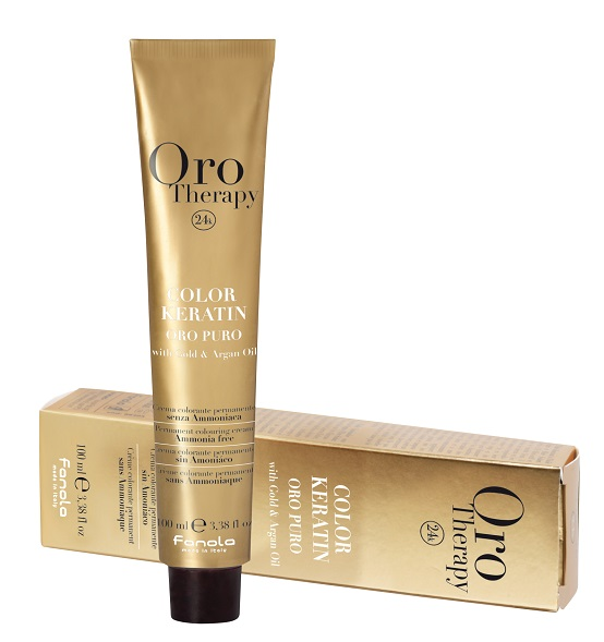 Fanola Oro Therapy Color 1/0 Nero 100 ml