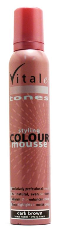 Vitale Colour Mouse Dark Brown 200 ml