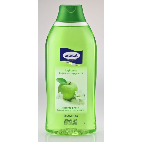 Mil Mil Shampoo Green Apple 750 m