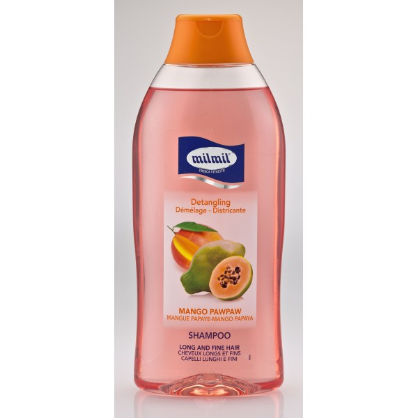 Mil Mil Shampoo Mango Papaya 750 ml