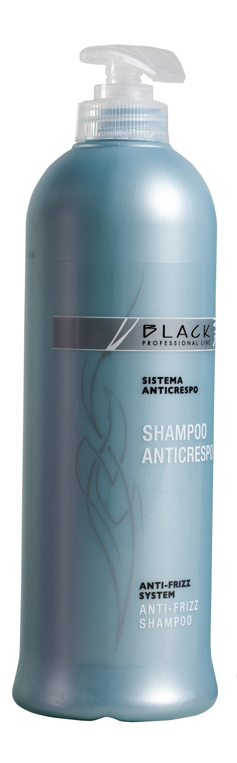Black Shampoo Anticrespo 500 ml