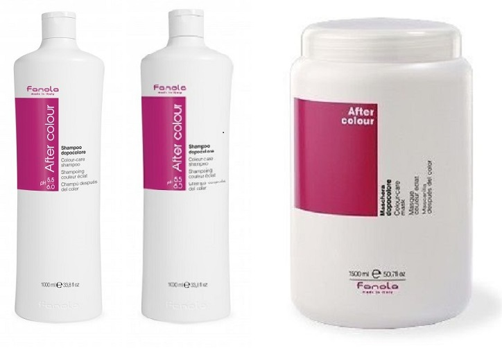 Fanola After Colour Shampoo 1000 ml - 2+1 Akce