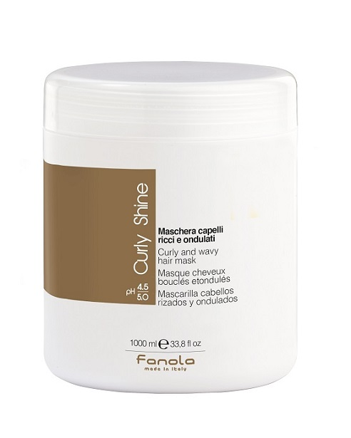Fanola Curly Shine Mask 1000 ml
