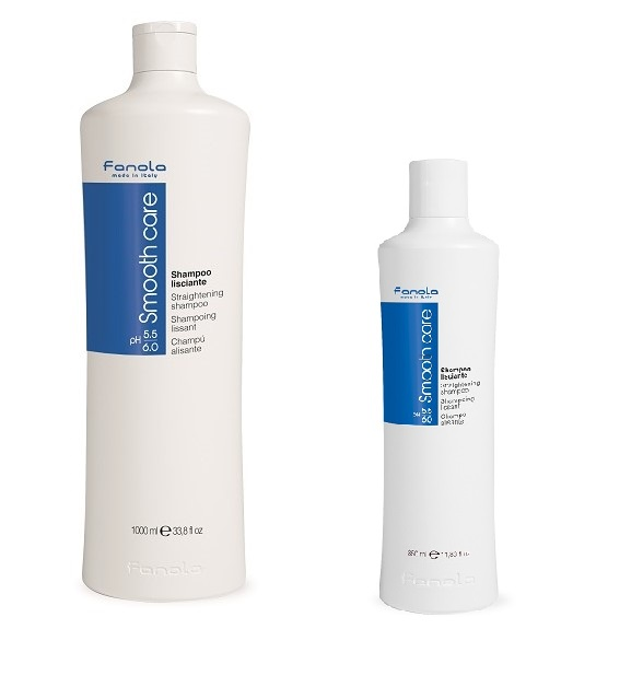 Fanola Smooth Care Straig. Shampoo 1000 ml 1+1 Akce.