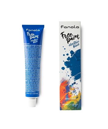 Fanola barva Free Paint Electric Blue 60 ml.